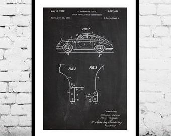Porsche Old Patent, Porsche Old Poster, Porsche Old Print, Porsche Old Art, Porsche Old Decor, Porsche Old Blueprint, Porsche Old p1155