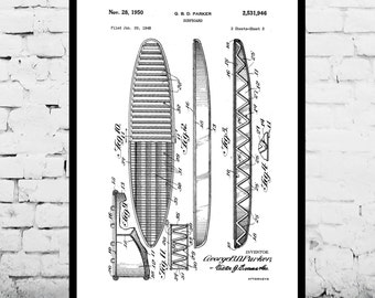 Inventions of Surfing - Surfing Art - Surf Poster - Surf Patent - Surfing Patent - Surfboard - Wet Suit - Vintage Surfing - Surfing p042