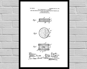 Grinder patent, weed grinder patent, weed grinder, grinder patent sp769