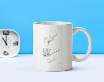 Smoking Pipe patent mug  coffee mug  coffee lover  patent art  patent mug  Vintage Gift for Him Smoking CollectibleM294