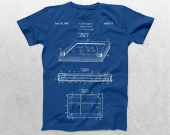 Etch A Sketch Patent T-Shirt, Etch A Sketch Blueprint, Patent Print T-Shirt, Etch A Sketch Shirt, Vintage Retro T-Shirt p107
