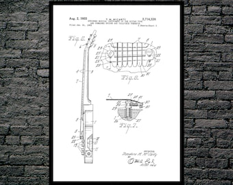 Gibson Les Paul Guitar Print, Gibson Les Paul Guitar Poster, Gibson Les Paul Patent, Les Paul Guitar Art, Gibson Les Paul Decor p807