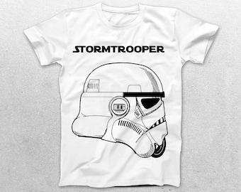 Stormtrooper Patent T-Shirt, Stormtrooper Blueprint, Star Wars Patent Print T-Shirt, Star Wars T-Shirt, Star Wars Gifts, p1411