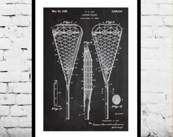 Lacrosse Stick Print, Lacrosse Stick Patent, Lacrosse Stick Poster, Lacrosse Stick Blueprint, Lacrosse Stick Art, Lacrosse Stick Decor p836