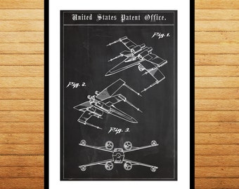Star wars X Wing Star Wars Poster X Wing Star Wars Patent X Wing Star Wars Print X Wing Star Wars Art X Wing Star Wars p1419