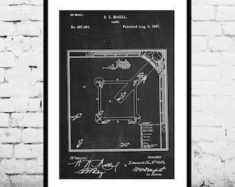 Baseball Diamond Patent, Baseball Patent Poster, Baseball Blueprint, Baseball Bottle Print, Mancave decor, Gift for him, Baseball art p411