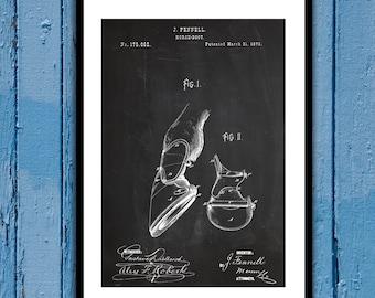 Horse Boots Patent, Horse Boots Poster, Horse Boots Blueprint,  Horse Boots Print, Horse Art, Equestrian Decor p164