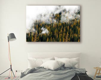 Nature Photography canvas print framed Mountains Wall Art Print Outdoor Gift Mountain Wall Decor Mountain Print Mountains reflection PH033