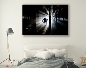 Dark Forest Photography People Photography Trees in Forest Tree Art Nature Landscape Nature Photography Home Decor Wall Decor PH057