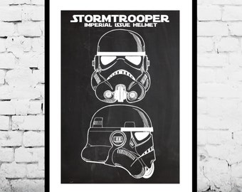 Star Wars Stormtrooper Poster Star Wars Stormtrooper Patent Star Wars Stormtrooper Print Star Wars Stormtrooper Decor Stormtrooper Art p1434