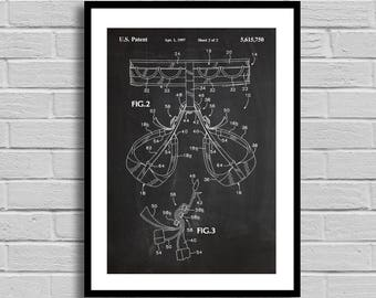 Rock Climbing Harness Patent, Climbing Harness Patent Poster, Climbing Harness Blueprint, Climbing Harness Print,Sports Decor,Outdoors p849