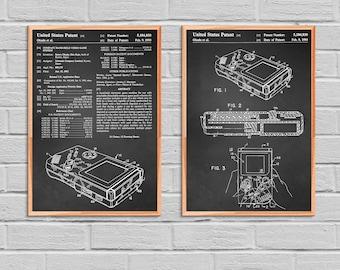 Game Boy Nintendo Poster Game Boy Nintendo Patent Game Boy Nintendo Print Game Boy Nintendo Art Game Boy Nintendo Decor Gameboy Gamer 2P54