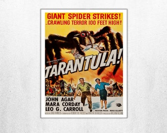 MOVIE poster vintage creature Tarantula Classic Horror space poster Poster Art Vintage Print Home Decor movie poster Vintage Movies sp619