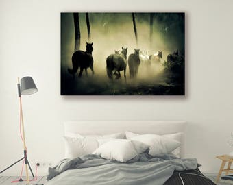Forest Photography Animal Photography Nature Landscape Nature Photography Home Decor Horse Decor Wall Decor PH085