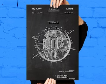 Satellite Print, Satellite Poster, Satellite Patent, Satellite Decor, Satellite Blueprint, Satellite Wall Art, Satellite Art p256