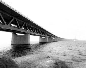 Black and White Photography Architectural Design Waterscape Landscape Photography Nature Photography Home Decor Wall Decor PH0153