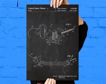 Slinky Dog Patent, Slinky Dog Poster, Slinky Dog Blueprint,  Slinky Dog Print, Slinky Dog Art, Slinky Dog Decor p011