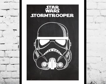 Star Wars patent Star Wars Stormtrooper Poster Stormtrooper Geek Decor Patent Print Poster Wall Decor May the 4th p1386