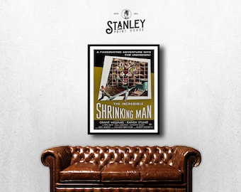 MOVIE poster vintage The Incredible Shrinking Man Classic Horror space poster Poster Art Vintage Print Art Home Decor movie poster art sp654