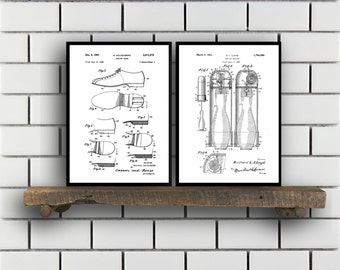 Bowling Patent Set of TWO Bowling Invention Patent Bowling Poster Bowling Print Bowling Patent Bowling Inventions 10 pin Bowling SP397