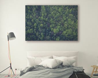 Forest photo poster canvas framed Print Large Wall Art Print Thick Forest Photography Print Nature Photography Wall Decor Mountains PH050