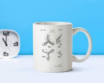 Ship Propellor patent mug  coffee mug  coffee lover  patent art  patent mug  Ship DecorBoatingNautical DecorNavy Decor MarineM79