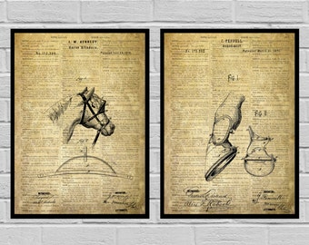 Equestrian Inventions Equestrian Patent Equestrian Art Equestrian Wall Art Horse Saddle Patent Horse Jump Patent Equestrian Decor SP520