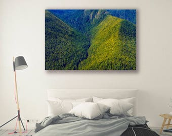 Nature Print Large Wall Art Print Photography Print Nature Photography Neutral Wall Decor Mountain Art Home Decor Forest PH01