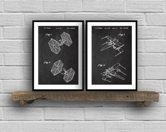 Star wars patent Star Wars Patent Print Star Wars Patents Star Wars Print Science Fiction Movie Gift Star Wars Art Star Wars SP84