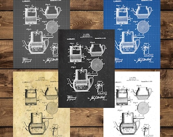 Poster appliances etsy instant download drip coffee pot patent drip coffee pot patent poster drip coffee pot drip coffee pot decor kitchen decorcoffee decor malvernweather Gallery