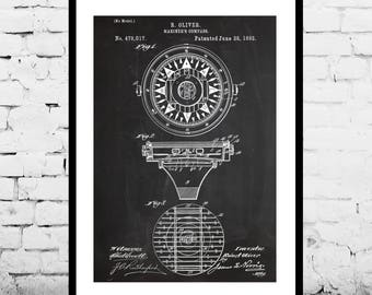 Mariners Compass Patent Print Patent Poster Marine Navigation Mancave decor Gift for him Nautical art Navigation Boating p406