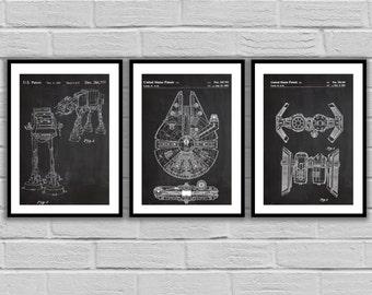 Star Wars patent, Millennium Falcon Star Wars Poster, Millennium Falcon Star Wars Patent, Millennium Falcon Star Wars Print, patent SP534