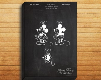 Mickey Mouse Print, Mickey Mouse Patent, Mickey Mouse Poster, Mickey Mouse Art, Mickey Mouse Decor, Mickey Mouse Wall Art p1141