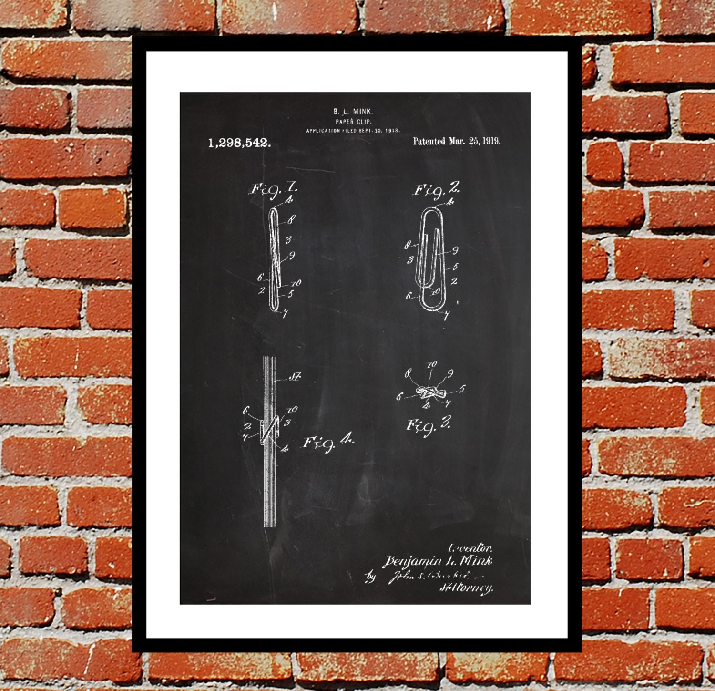 Paper clip patent paper clip poster paper clip blueprint paper clip paper clip patent paper clip poster paper clip blueprint paper clip print paper clip art paper clip decor malvernweather Gallery