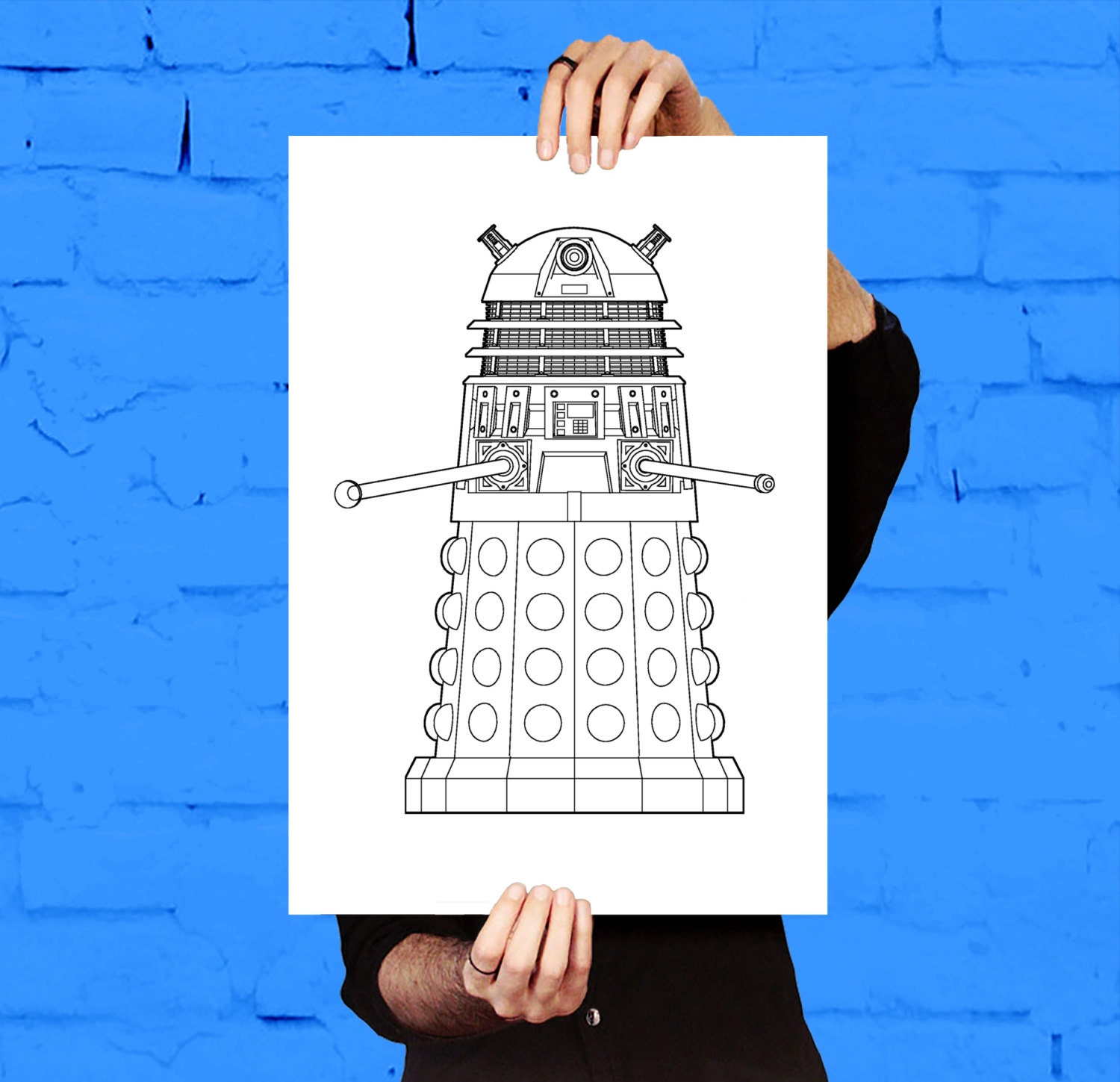 Doctor who dalek patent dr who dalek poster dalek blueprint doctor who dalek patent dr who dalek poster dalek blueprint dalek print dalek art dalek decor doctor who wall art malvernweather Images