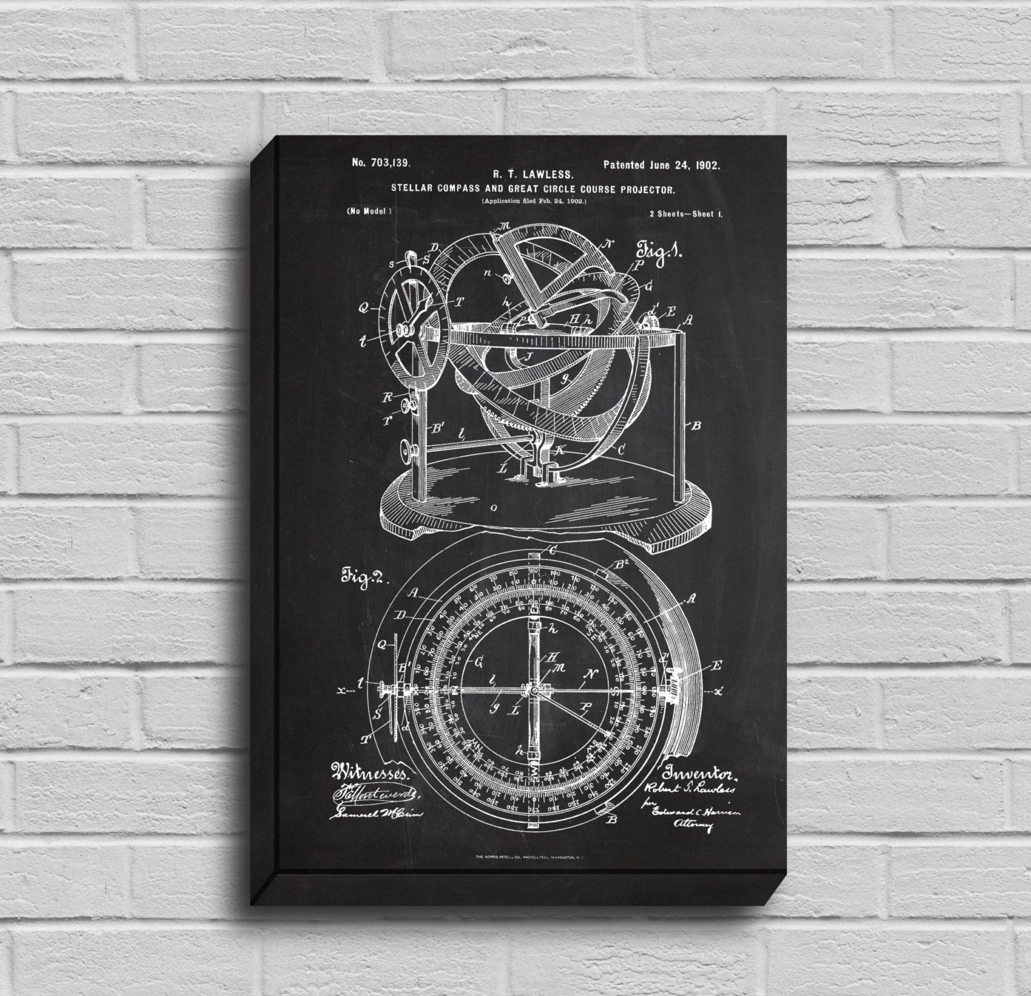 Canvas nautical compass patent nautical compass poster nautical canvas nautical compass patent nautical compass poster nautical compass blueprint nautical compass print nautical decor malvernweather Gallery