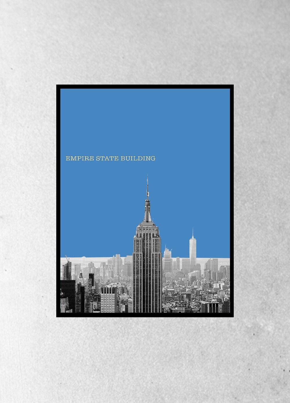 New York Poster New York Art Travel New York Wall Art Art Design