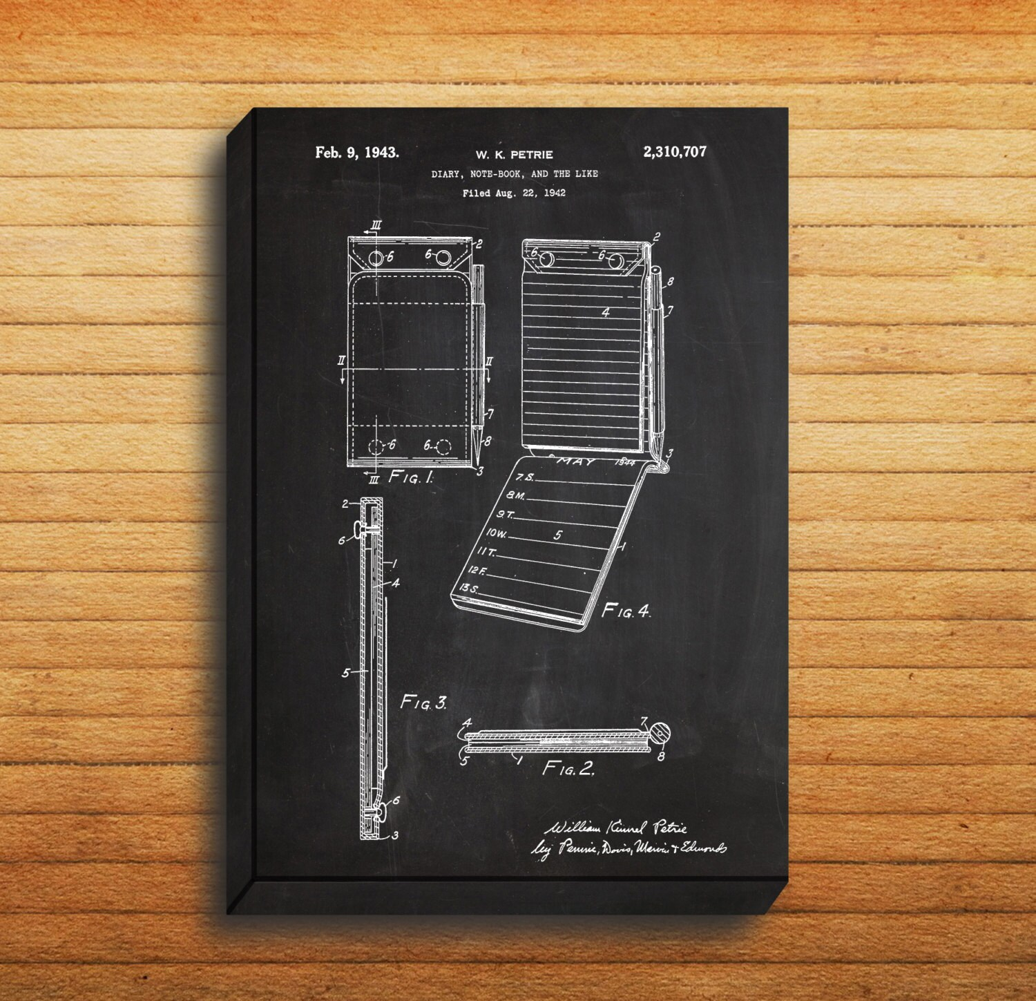 Canvas notebook patent notebook poster notebook blueprint canvas notebook patent notebook poster notebook blueprint notebook print notebook art notebook decor malvernweather Image collections