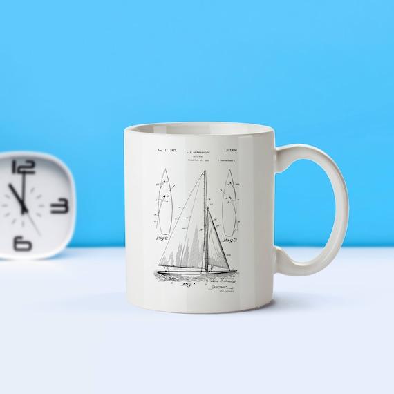15 oz Ceramic mug Catamaran sailing gift tea 11 Coffee
