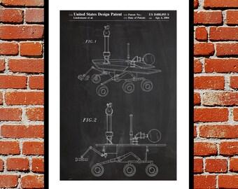 Mars Rover Patent, Mars Rover Poster, Mars Rover Print, Mars Rover Art, Mars Rover Decor, Mars Rover Blueprint, Mars Rover Design