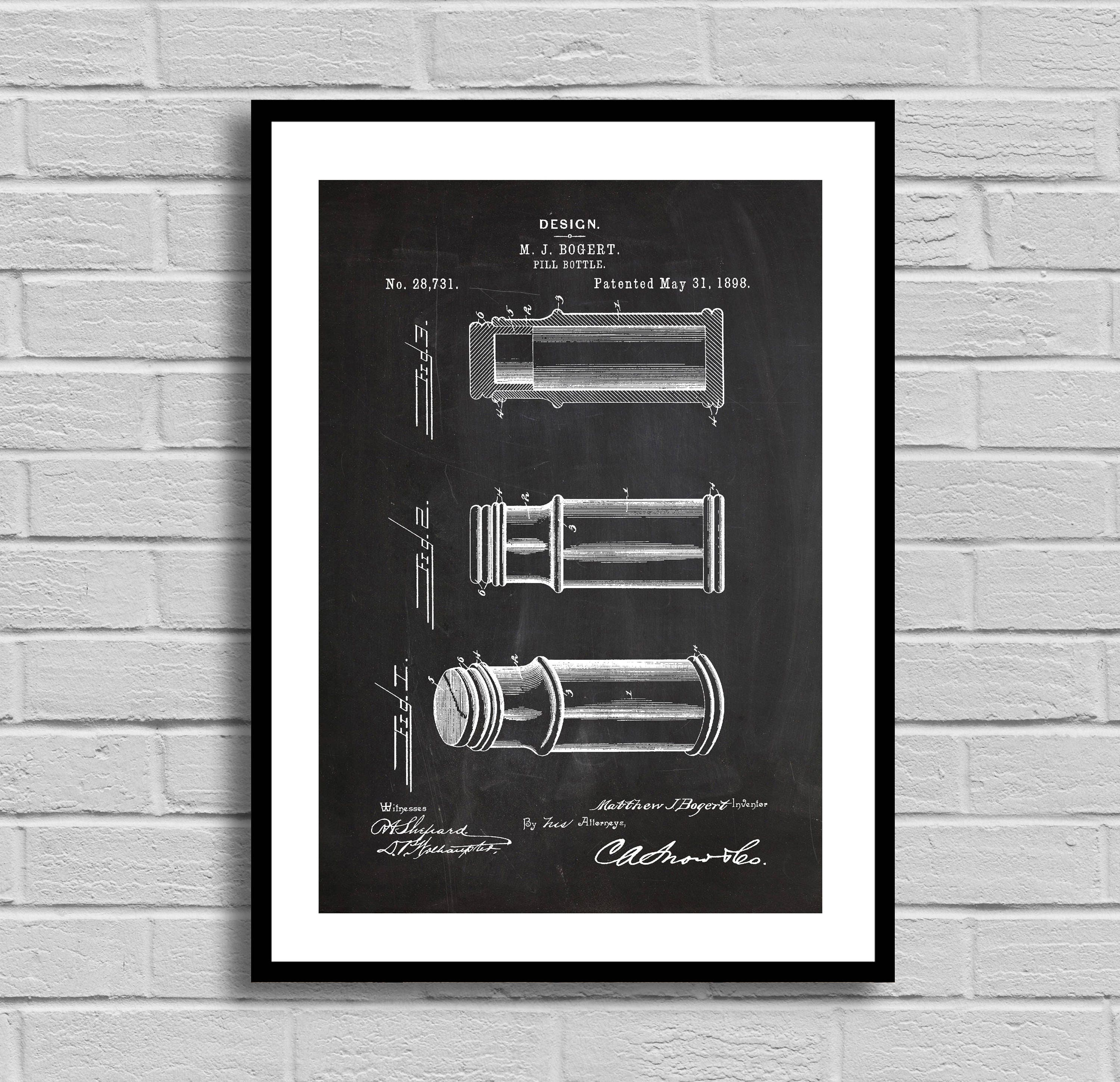 Medicine pill bottle patent medicine pill bottle patent poster medicine pill bottle patent medicine pill bottle patent poster medicine pill bottle blueprint medicine pill bottle print medical gift malvernweather Choice Image