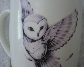 Custome Made Owl Mug