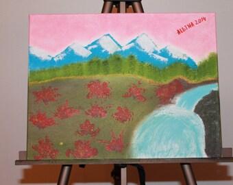 """11x14"""" - Hand Painted, ORIGINAL, OIL LANDSCAPE"""