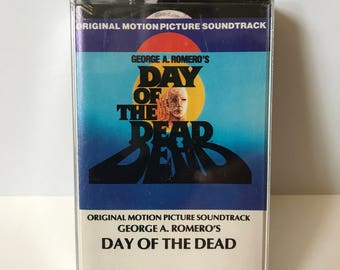DAY of the DEAD Original Motion Picture Soundtrack CASSETTE George Romero Dawn Tom Savini New Sealed
