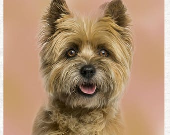 cairn terrier fabric etsy