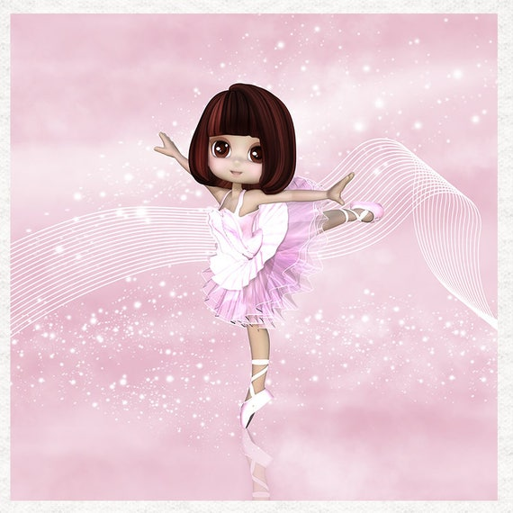 Sweatshirt Fabric Dressmaking Fairy Ballerina Pink