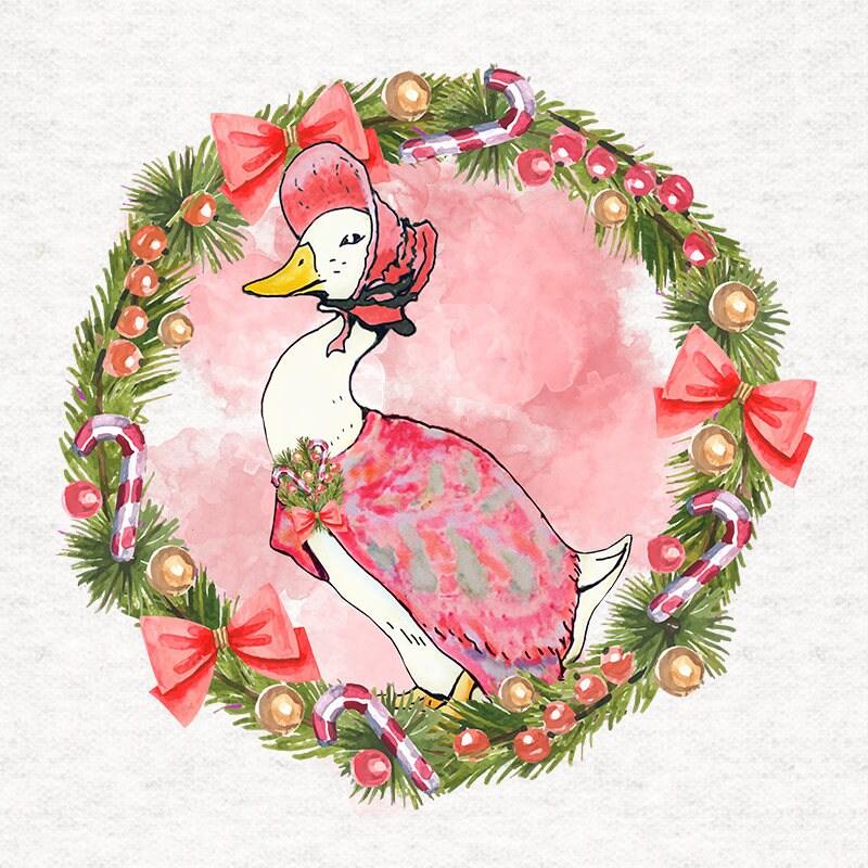 Beatrix Potter Jemima Puddle-Duck Weihnachten Polster | Etsy