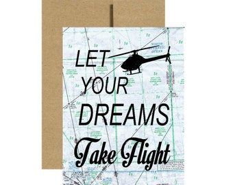 Graduation Card Greeting Cards Pilot Gift Congratulations Etsy