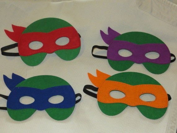 Ninja Turtle Masken teenage mutant Ninja Turtle Masken | Etsy