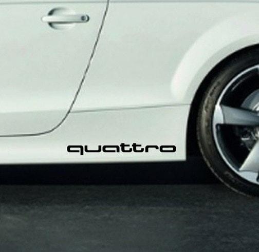 QUATTRO Audi Racing Sport S Line A3 A4 A5 A6 A8 Q3 Q5 Q7
